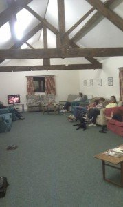 NOT an old peoples home like some may believe...this is the recreation room!