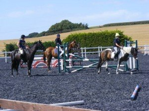 Little bit of show jumping in the sun :)